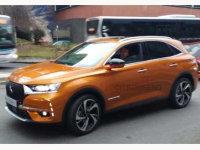 DS中型SUV DS 7谍照 将日内瓦车展首发