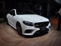 2017上海车展:全新奔驰E级Coupe亮相