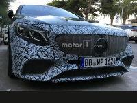 奔驰新款S级Coupe谍照 将于9月正式亮相