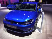 法兰克福车展 大众全新e-Golf正式亮相