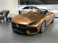 2017广州车展:宝马全新Z4概念车亮相