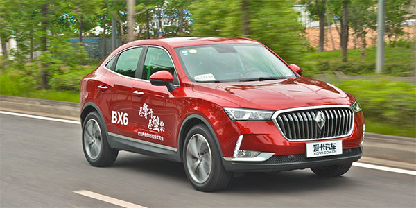 又一台轿跑型SUV来啦 爱卡试驾宝沃BX6