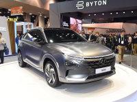 2018 CES展:现代燃料电池车Nexo静评