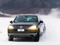 穿林海,跨雪原 大众途锐冰雪驾控体验