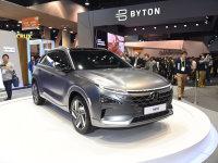 2018 CES展:现代氢燃料电池车Nexo发布