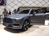 2018日内瓦车展:宾利添越V8汽油版发布