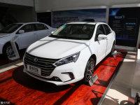 2018款秦EV450上市 补贴后14.99万起售