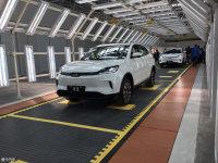 威马EX5首台试装车下线 将4月开启预售
