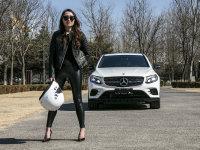 张弛有度 美女车手体验GLC 43 轿跑SUV