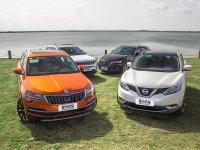 人生若如初见 四款紧凑型SUV横评外观篇