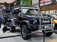 2018北京车展 BJ80 6×6皮卡版静态评测