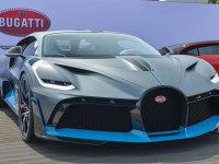 2018圆石滩车展:布加迪Divo正式发布