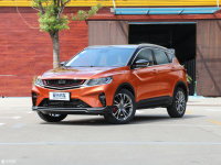 吉利全新SUV缤越正式上市 7.88万起售