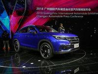 中型轿跑SUV 长安CS85于明年上半年上市