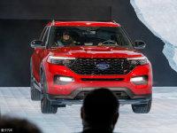 剑指途昂 福特全新探险者亮相北美车展