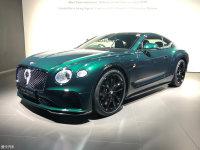 日内瓦车展:宾利欧陆GT百年纪念版首发