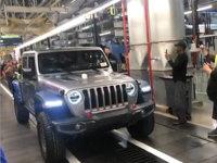 Jeep全新皮卡Gladiator下线 二季度上市