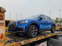 上海车展探馆:奥迪Q2L e-tron实车曝光