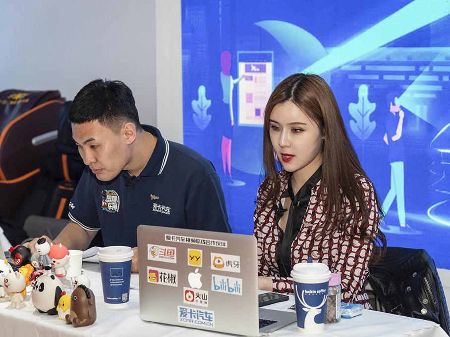 2019上海车展 致敬辛勤的高颜值工作者