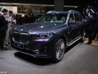 2019上海车展 全新宝马X7对比奔驰GLS