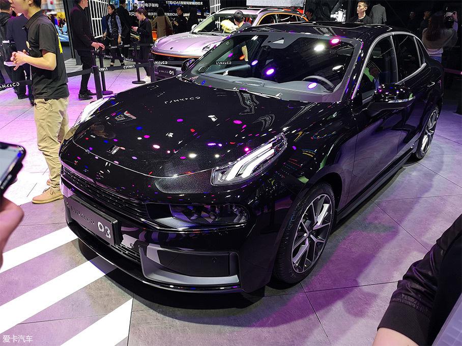 领克03 2.0TD车型上市 售15.48万元起