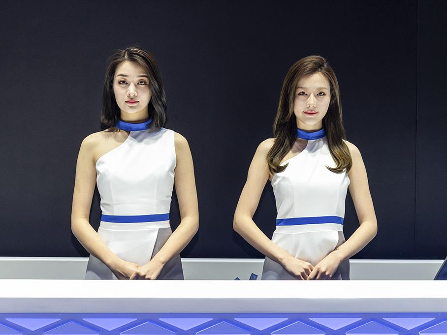 2019上海车展 温柔礼仪们也应深得你心