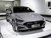 现代新索纳塔将下半年上市 四门轿跑车