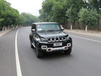 更精致的硬汉 试驾北京BJ40城市猎人版