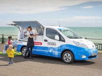 日产e-NV200 Ice Cream概念车官图发布