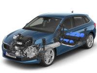 斯柯达SCALA G-TEC官图 采用天然气动力