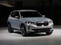 宝马iX3最快明年第三季度上市 电动SUV