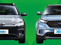 20万合资纯电SUV 昂希诺纯电动&领界EV