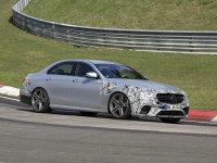 新款AMG E63谍照曝光 将4月底正式发布