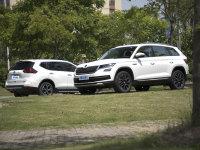 今天编辑就为大家带来两款七座SUV车型的实测对比