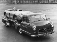 50年代极速170km/h的拖车 奔驰蓝色奇迹