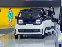 北京车展:新宝骏E300小Biu汽车抢先看