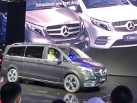 北京车展:梅赛德斯-奔驰新款V级上市