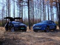奥迪VS特斯拉 挑战900km驶向森林深处