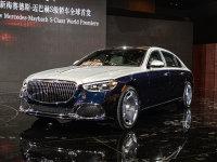 2020广州国际车展 实拍全新迈巴赫S级