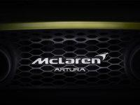 迈凯伦混动超跑Artura预告图曝光 将于明年上半年上市