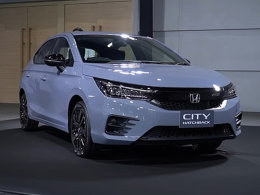全新本田City Hatchback实车 搭载1.0T