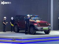 上海车展探馆 Jeep牧马人4xe实车抢先看