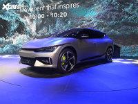 2021上海车展:起亚全新纯电动车EV6亮相
