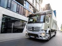 奔驰eActros量产版首秀 率先欧洲上市