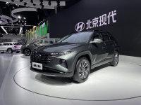 2021成都车展 北京现代途胜L混动版发布