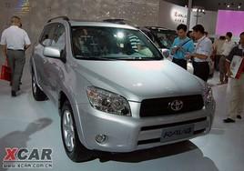 丰田RAV4国产在即 首批车辆目录新车寥寥