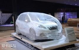2013上海车展探馆 标致2008 Hybrid Air