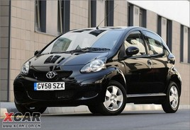 提供三门与五门选择 丰田2009款Aygo发布