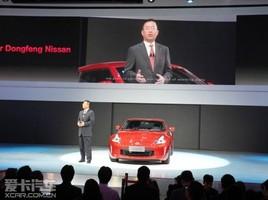 明年初上市 新款日产370Z广州车展亮相