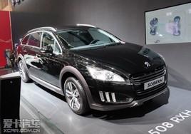 柴油混动车型 标致508 RXH亮相北京车展